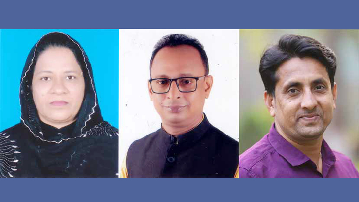 ব্রাহ্মণবাড়িয়া পৌরসভার তিন প্যানেল মেয়র নির্বাচিত