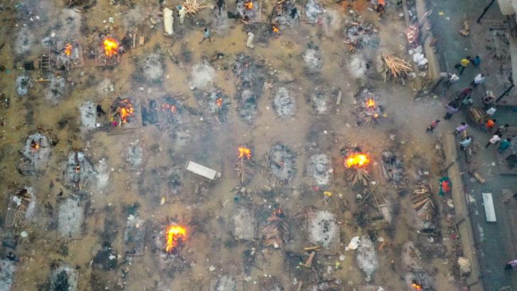 ভারতে ২৪ ঘণ্টায় আরও ৩৮৭৬ মৃত্যু