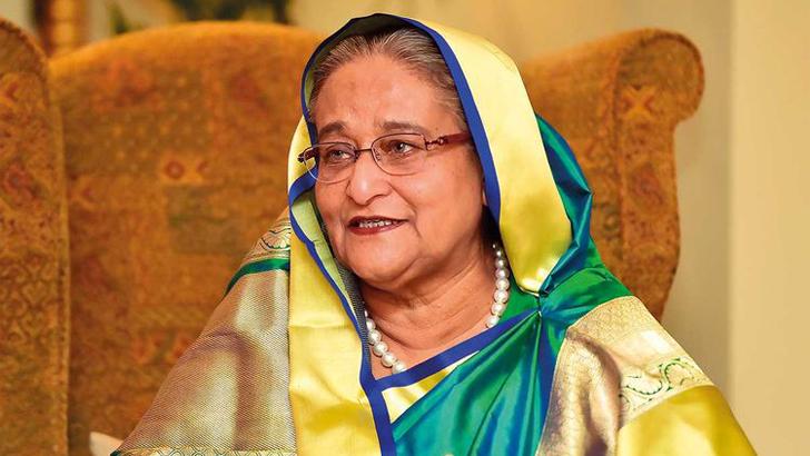 আসসালামু আলাইকুম, আমি শেখ হাসিনা
