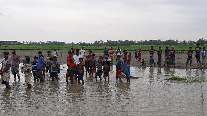সিরাজগঞ্জে নৌকা ডুবি