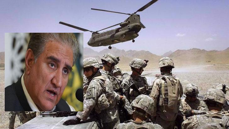 পাকিস্তানে আর মার্কিন ঘাঁটি করতে দেওয়া হবে না: মেহমুদ কুরেশি