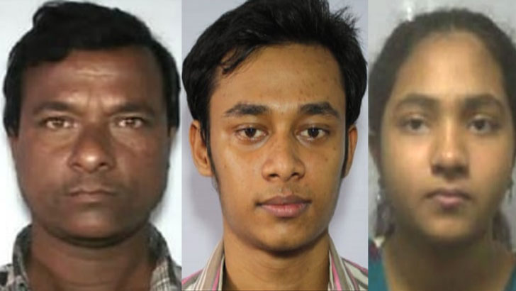 শেখ হাবিব, শেখ ইমরান ও শারমিন আক্তার। ছবি: সংগৃহীত