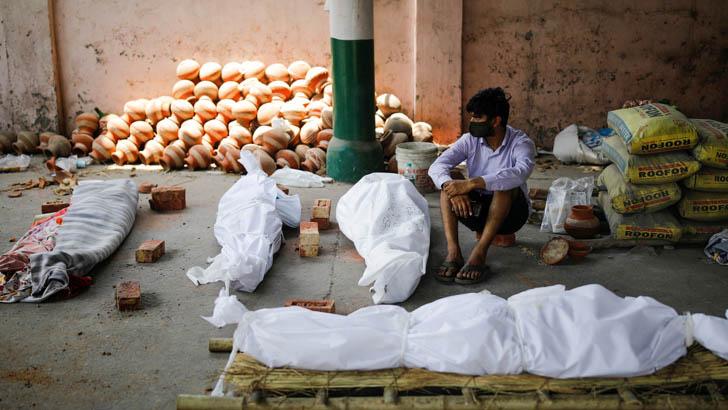 ভারতে করোনায় আরও ৩৯২১ মৃত্যু