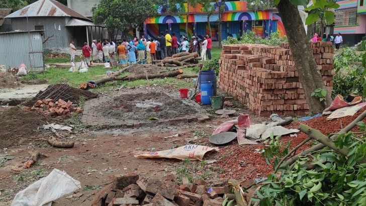 গাজীপুরে স্কুল মাঠ দখলচেষ্টার অভিযোগে মামলা