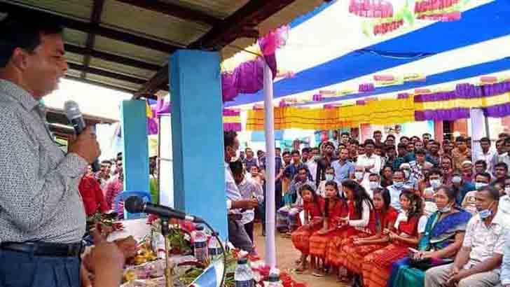 প্রধানমন্ত্রী সুনামগঞ্জের ২০৯ পরিবারকে নতুন ঘরের চাবি দেবেন