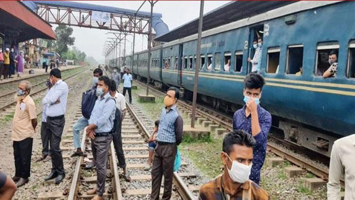 যানজট কমাতে গাজীপুর-ঢাকা বিশেষ ট্রেন চালু