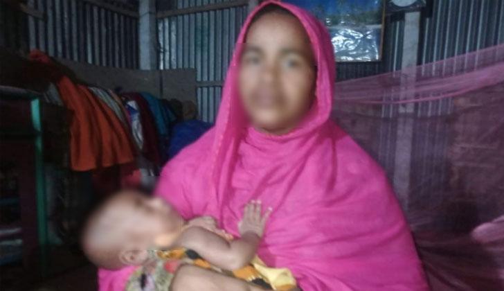 তিন মাস বয়সী সন্তান আলহাজকে ৪৫ হাজার টাকায় বিক্রি করে দেন