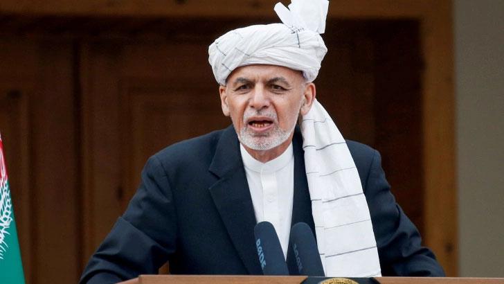 আফগানিস্তানের প্রেসিডেন্ট আশরাফ গনি