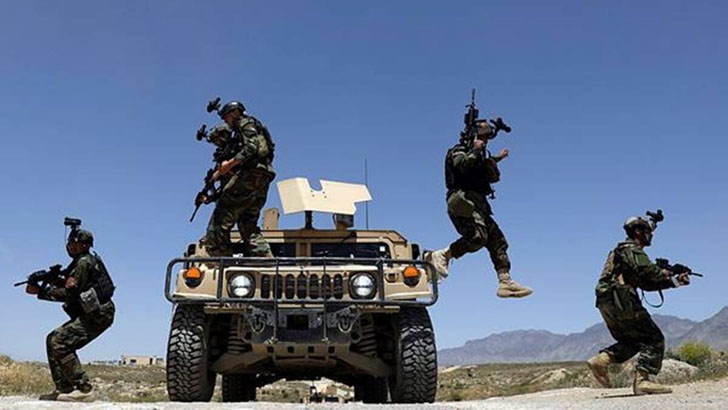 আফগানিস্তানের সেনা অভিযানে ২৬৯ তালেবান নিহত