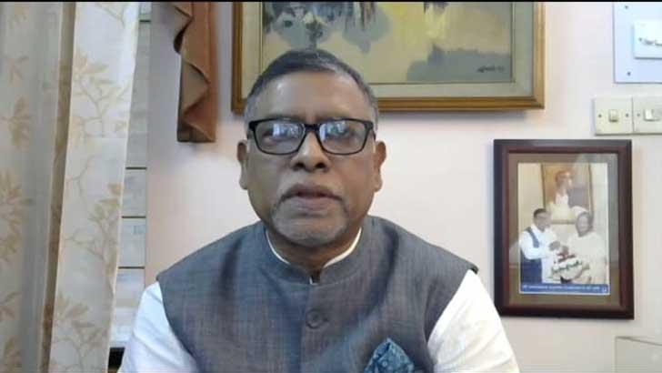 স্বাস্থ্য ও পরিবারকল্যাণমন্ত্রী জাহিদ মালেক।
