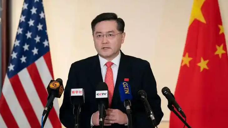 চীনের নতুন রাষ্ট্রদূত শিন গ্যাং