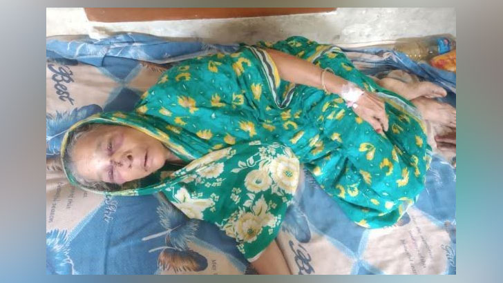 মারধরে আহত সুফিয়া বেগম