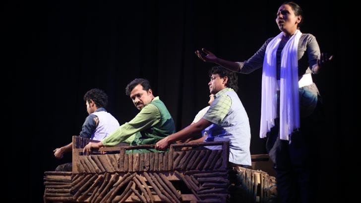 ভারতের নাট্য উৎসবে 'হরগজ'