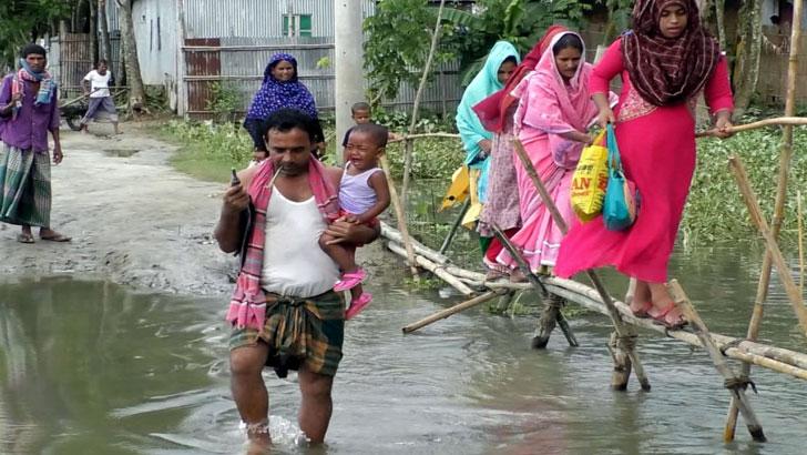 স্বাধীনতার ৫০ বছরেও উন্নয়নের ছোঁয়া লাগেনি কুড়িগ্রামের প্রত্যন্ত উপজেলা রৌমারীতে
