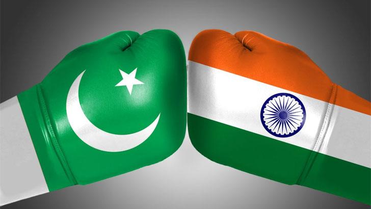 মুখোমুখি ভারত-পাকিস্তান