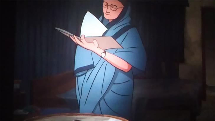 প্রধানমন্ত্রীর জন্মদিনে অ্যানিমেশন চলচ্চিত্র 'মুজিব আমার পিতা'র প্রিমিয়ার