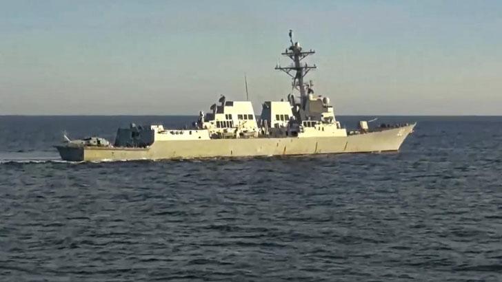 জাপান সাগরে মার্কিন যুদ্ধজাহাজকে রুশ নৌবাহিনীর ধাওয়া