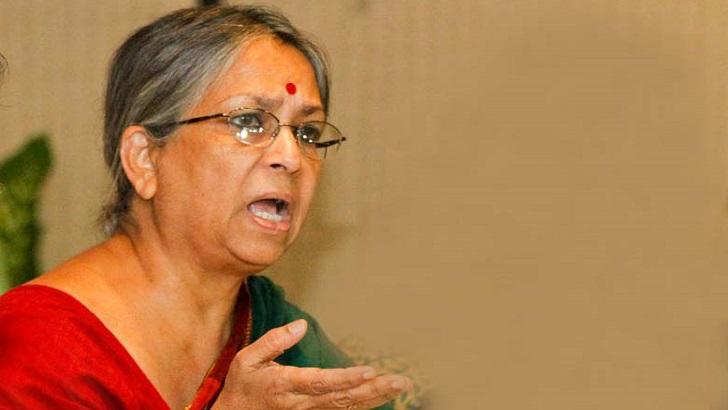 সাম্প্রদায়িক সন্ত্রাসবাদের বিরুদ্ধে তীব্র নিন্দা সুলতানা কামালের