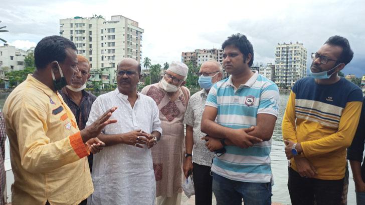 কুমিল্লায় ঘটনাস্থলে জাতীয় ছাত্রসমাজের প্রতিনিধি দল