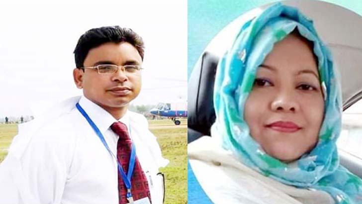 ডা. সাঈদ এনাম ও  ডা. সাইফুননাহার সুমি