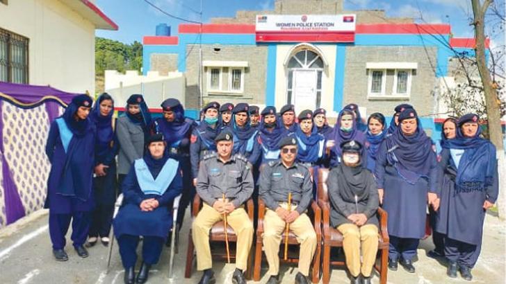 আজাদ কাশ্মীরে নারী পুলিশ স্টেশন চালু করল পাকিস্তান